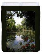 Lake On The Plantation Duvet Cover