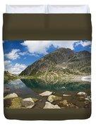 Lake Piccolo - Val Di Sole Duvet Cover