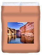 Lake Powell Antelope Canyon Duvet Cover