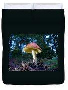 Lake Powhattan Mushroom Duvet Cover