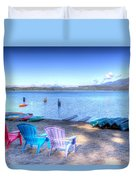Lake Quinault Dream Duvet Cover