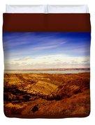 Lake Sakakawea North Dakota Duvet Cover