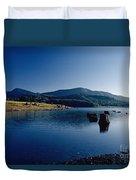 Lake Scene Duvet Cover