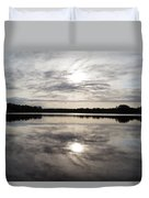 Lake Seminole Duvet Cover