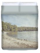 Lake St. Clair In Tasmania Duvet Cover