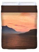 Lake Sunset 1 Duvet Cover