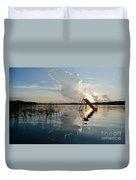 Lake Sunset 5 Duvet Cover