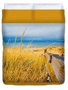 Lake Superior Beach Duvet Cover