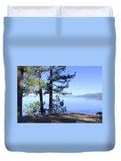 Lake Tahoe In The Morning Duvet Cover