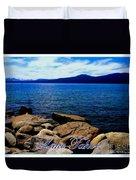 Lake Tahoe Magic Duvet Cover
