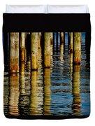 Lake Tahoe Reflection Duvet Cover