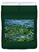 Lake Tahoe Swirls Abstract Duvet Cover