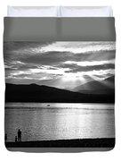 Lake Te Anau Duvet Cover