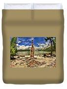 Lake Tenaya Giant Stump Duvet Cover