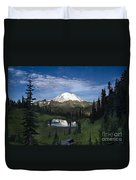Lake Tipsoo Reflections Duvet Cover