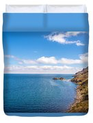 Lake Titicaca Coastline  Duvet Cover