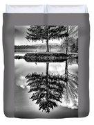 Lake Tree Duvet Cover