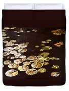 Lake Washington Lily Pad 10 Duvet Cover