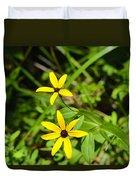 Lake Winfield Scott Wild Black-eyed Susan Flowers Duvet Cover