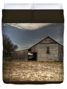 Lake Worth Barn Duvet Cover