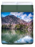 Lake Yunoko Duvet Cover