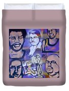Lakers Love Jerry Buss 2 Duvet Cover