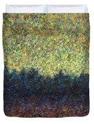 Lakeshore Sunset Duvet Cover