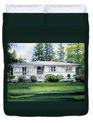 Lakeside Cottage Duvet Cover