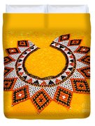 Lakota Souix Dance Collar Duvet Cover