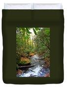 Lamance Creek Vertical Duvet Cover