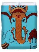 19 Lambakarna-large Eared Ganesha Duvet Cover