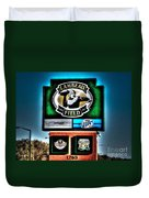 Lambeau Field Entrance Duvet Cover