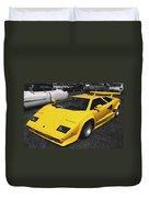 Lamborghini Countach Duvet Cover