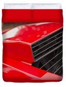 Lamborghini Countach Intake Duvet Cover