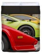 Lamborghini Countach Nose Duvet Cover