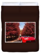 Lamborghini Maple Lane Big House Duvet Cover