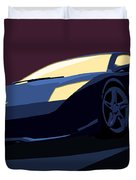 Lamborghini Murcielago - Pop Art Duvet Cover by Pixel  Chimp