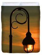 Lamp Post Glow Duvet Cover