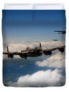 Lancaster Formation  Duvet Cover