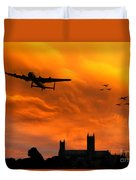 Lancaster Lincoln Sunset Duvet Cover