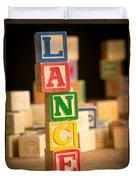 Lance - Alphabet Blocks Duvet Cover