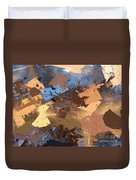Land And Sea Duvet Cover by Heidi Smith