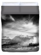 Land Of Fire Duvet Cover