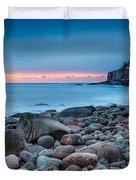 Land Of Sunrise Duvet Cover