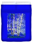 Land Of The Silver Birch Duvet Cover