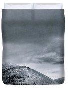 Land Shapes 10 Duvet Cover by Priska Wettstein