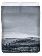 Land Shapes 11 Duvet Cover by Priska Wettstein