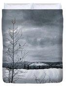 Land Shapes 15 Duvet Cover by Priska Wettstein