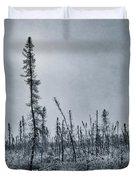 Land Shapes 21 Duvet Cover by Priska Wettstein