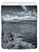 Land Shapes 23 Duvet Cover by Priska Wettstein